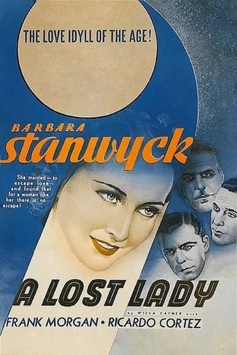 Poster of A Lost Lady