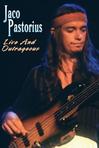 Poster of Jaco Pastorius - Live and Outrageous