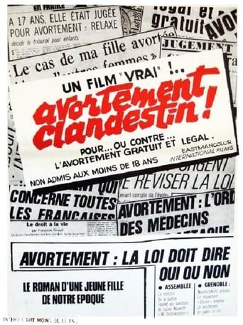 Poster of Avortement clandestin!