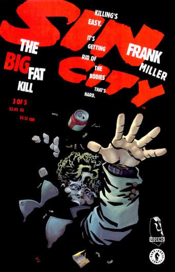 Poster of Sin City - The big fat kill