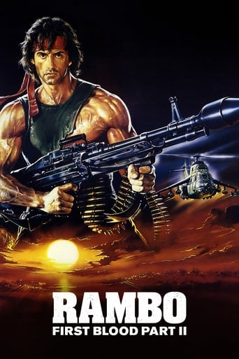 Poster of Rambo: First Blood Part II