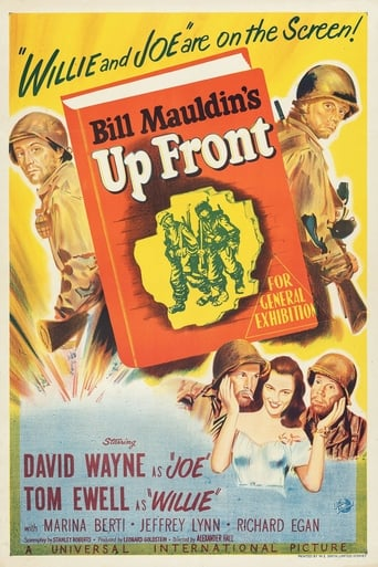 Poster of Up Front