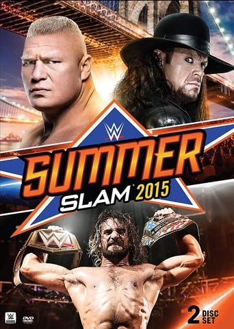 Poster of WWE SummerSlam 2015