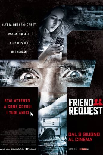 Poster of Friend Request - La morte ha il tuo profilo