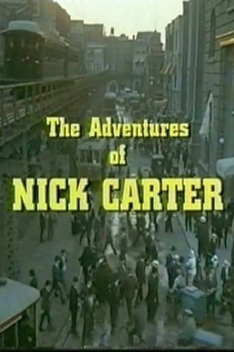 Poster of The Adventures of Nick Carter
