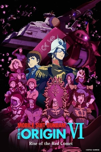 Poster of Mobile Suit Gundam: The Origin VI – Rise of the Red Comet