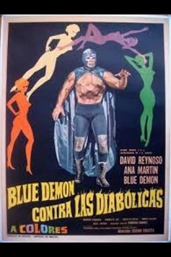 Poster of Blue Demon vs. the Diabolical Women