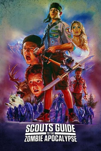 Poster of Scouts Guide to the Zombie Apocalypse