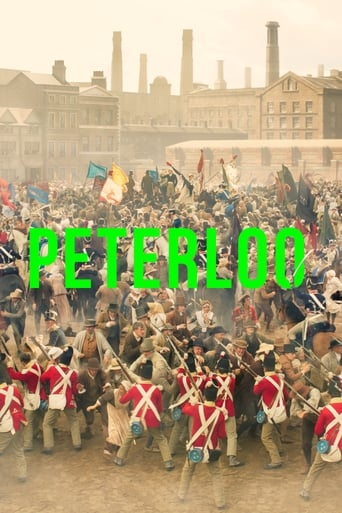 Poster of La tragedia de Peterloo
