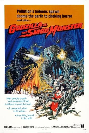Poster of Godzilla vs. Hedorah