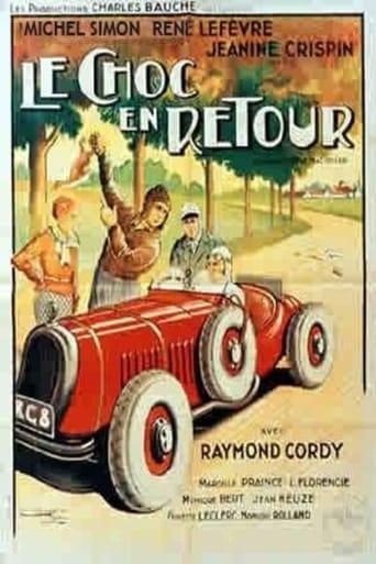 Poster of Le choc en retour