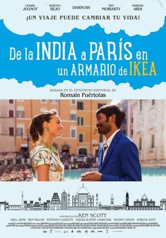 Poster of De la India a París en un armario de Ikea