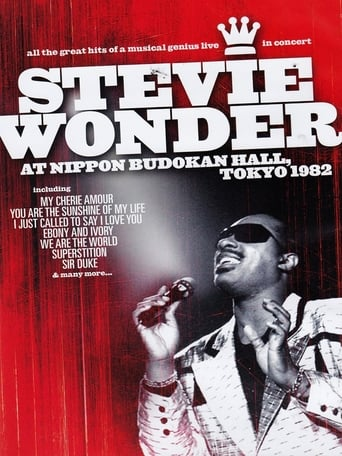 Poster of Stevie Wonder - At The Nippon Budoken Hall Tokyo 1982