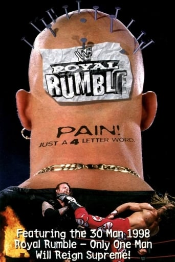 Poster of WWE Royal Rumble 1998
