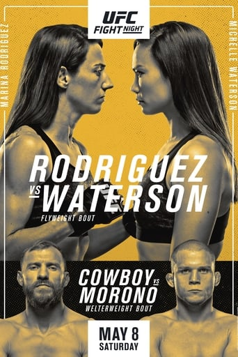 Poster of UFC on ESPN 24: Rodriguez vs. Waterson
