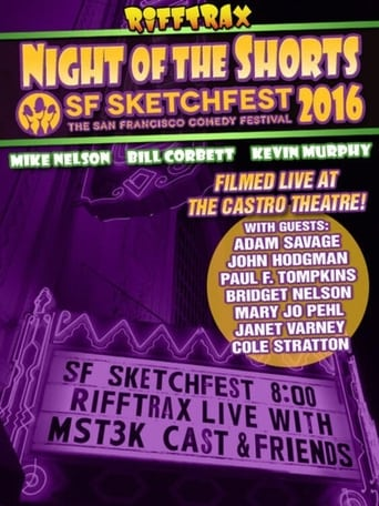 Rifftrax live: Night of the Shorts - SF Sketchfest 2016