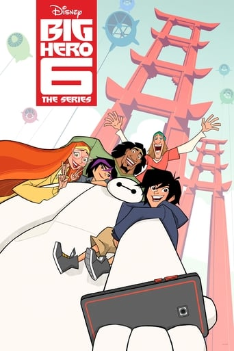 Poster of Big Hero 6: la serie