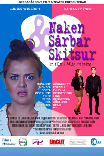 Poster of Naked, Hurt & Pissed Off