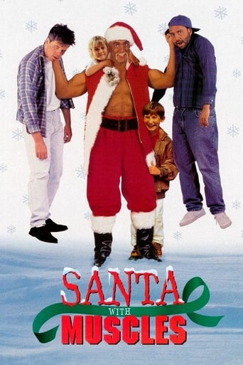 Poster of Santa with Muscles