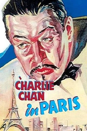 Poster of Charlie Chan in Paris
