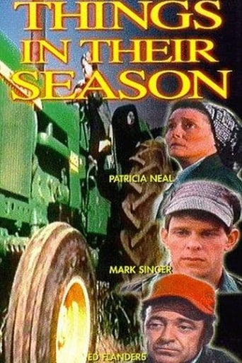 Poster of Things in Their Season