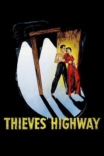 Poster of Thieves' Highway