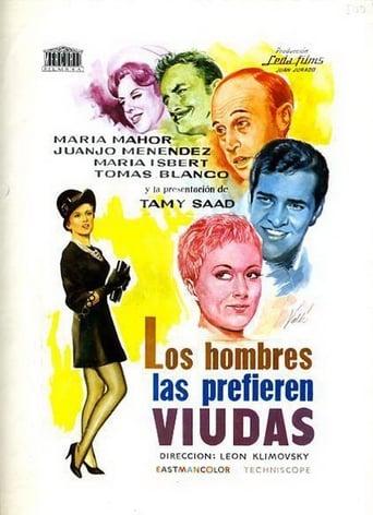 Poster of Los hombres las prefieren viudas