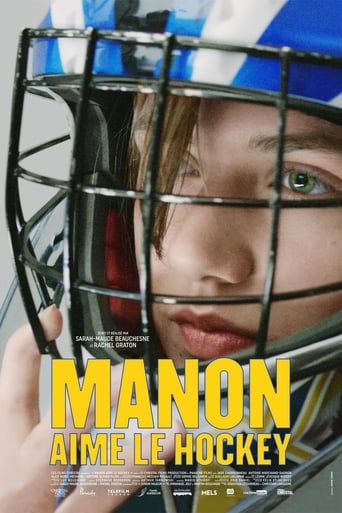 Manon aime le hockey
