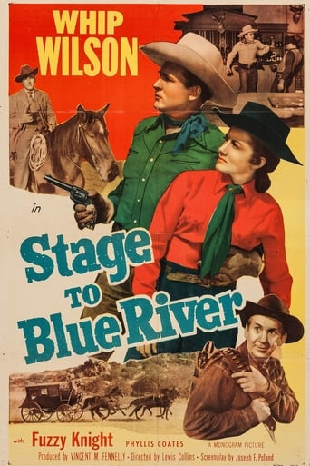 Poster of Stage to Blue River