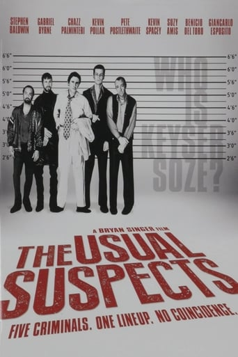 Poster of Round Up: Deposing 'The Usual Suspects'