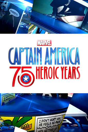 Poster of Marvel's Captain America: 75 Heroic Years