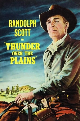 Poster of Thunder Over the Plains