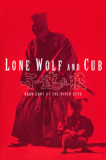 Poster of Lone Wolf and Cub: Baby Cart at the River Styx