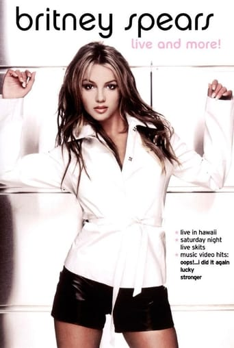 Poster of Britney Spears: Live and More!