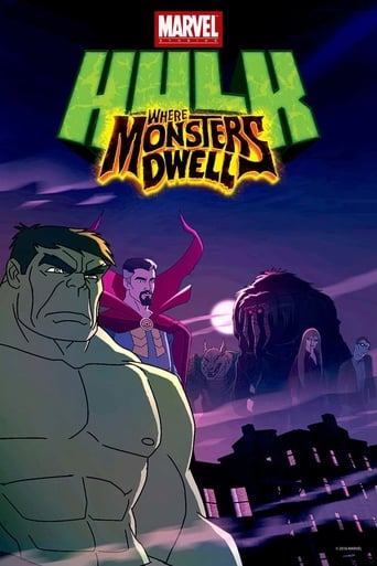 Poster of Hulk: Where Monsters Dwell