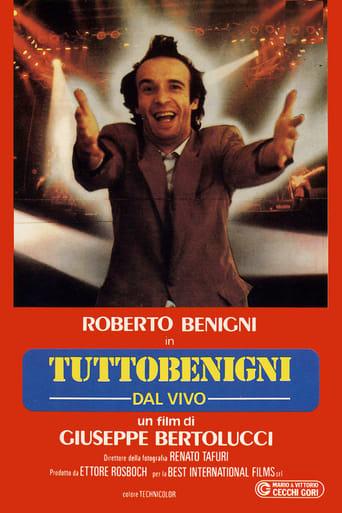 Poster of Tutto Benigni dal vivo 1983