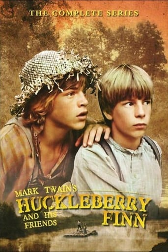 Poster of Huckleberry Finn and His Friends