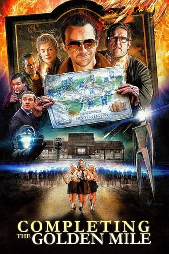 Completing the Golden Mile: The Making of The World's End poster