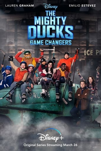 Poster of The Mighty Ducks: Game Changers