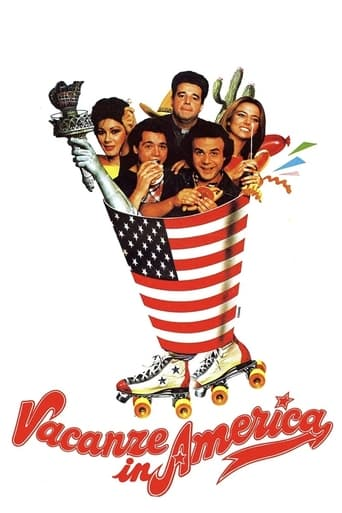 Poster of Vacanze in America