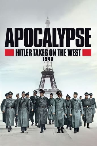 Poster of Apocalypse, Hitler Takes On The West - 1940