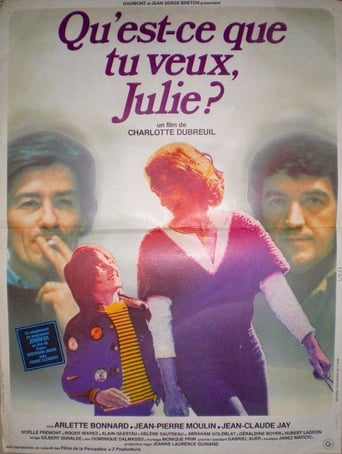 Poster of What Do You Want, Julie?