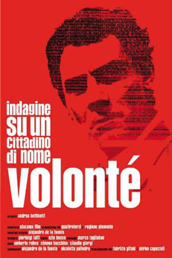Poster of Investigation of a Citizen Named Volonté