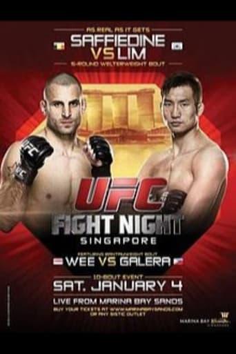Poster of UFC Fight Night 34: Saffiedine vs. Lim