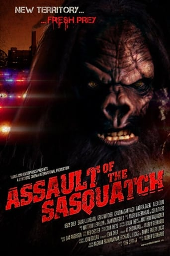 Poster of Assault of the Sasquatch