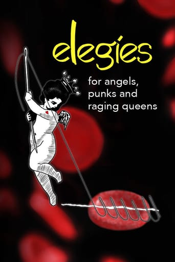 Poster of Elegies for Angels, Punks and Raging Queens