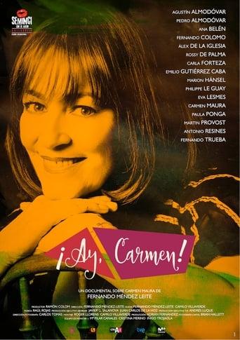 Poster of ¡Ay, Carmen!