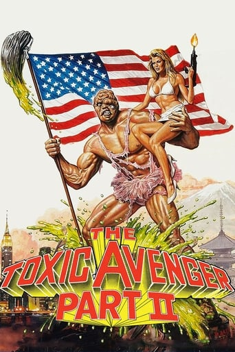 Poster of The Toxic Avenger Part II