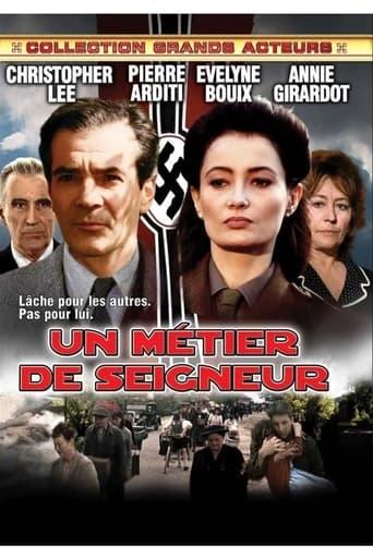 Poster of Un métier de seigneur