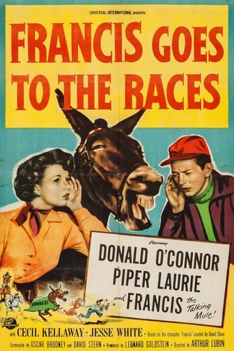 Poster of Francis Goes to the Races